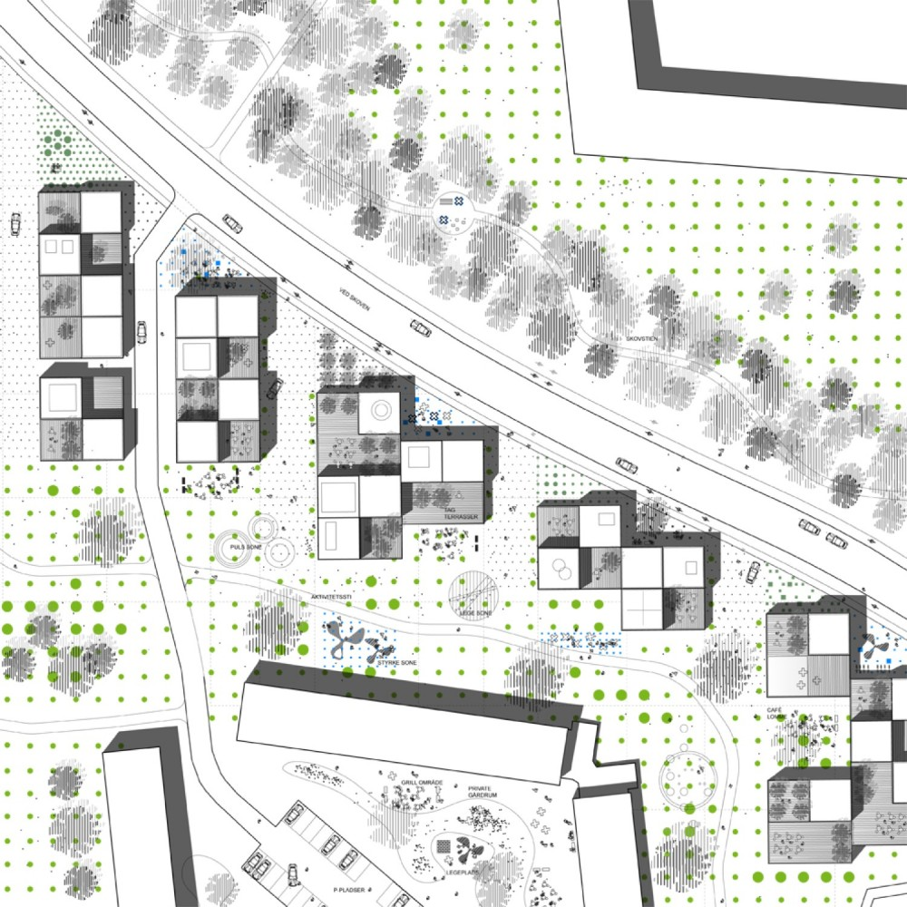 Urban Plan Rdovre Syd / WE architecture