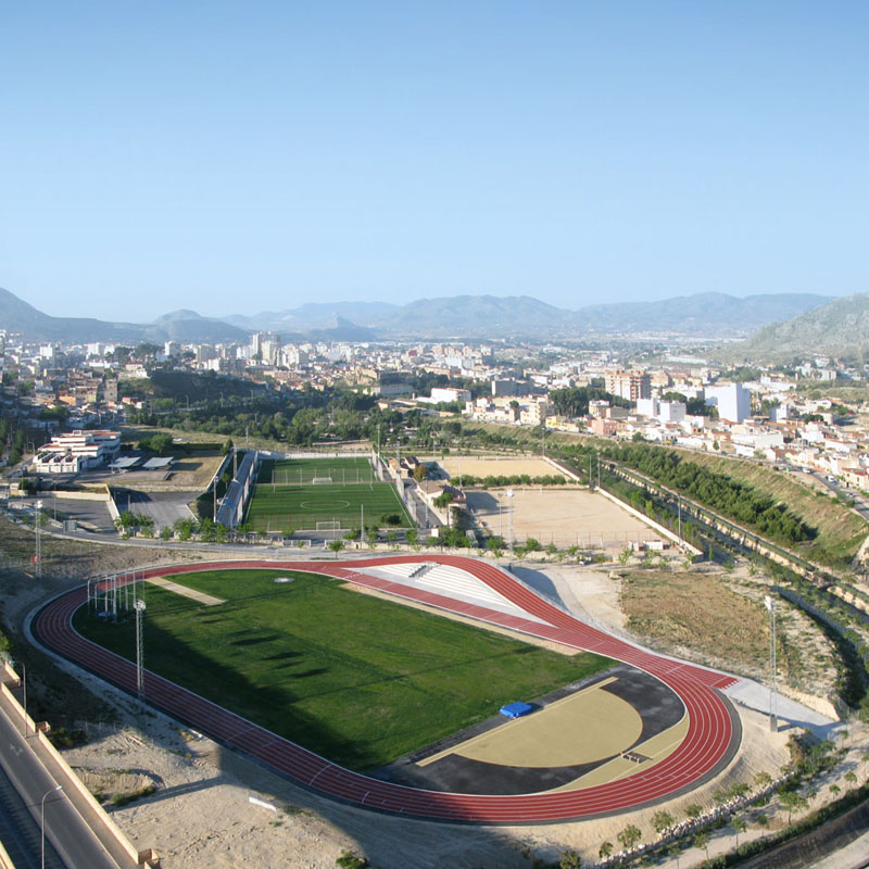 3D Athletics Track / Subarquitectura