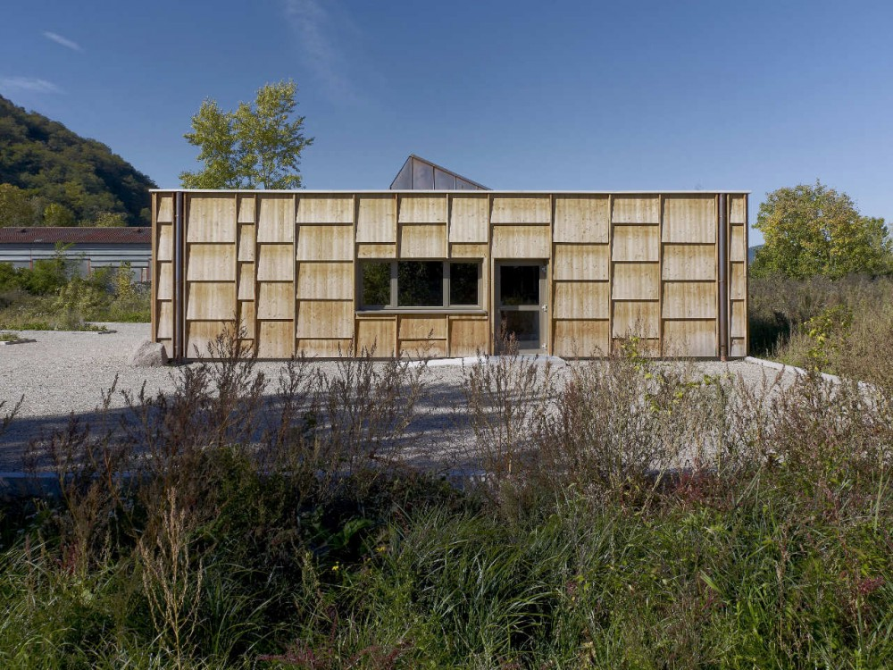 Wood House in Châtenois / Atelier d.org