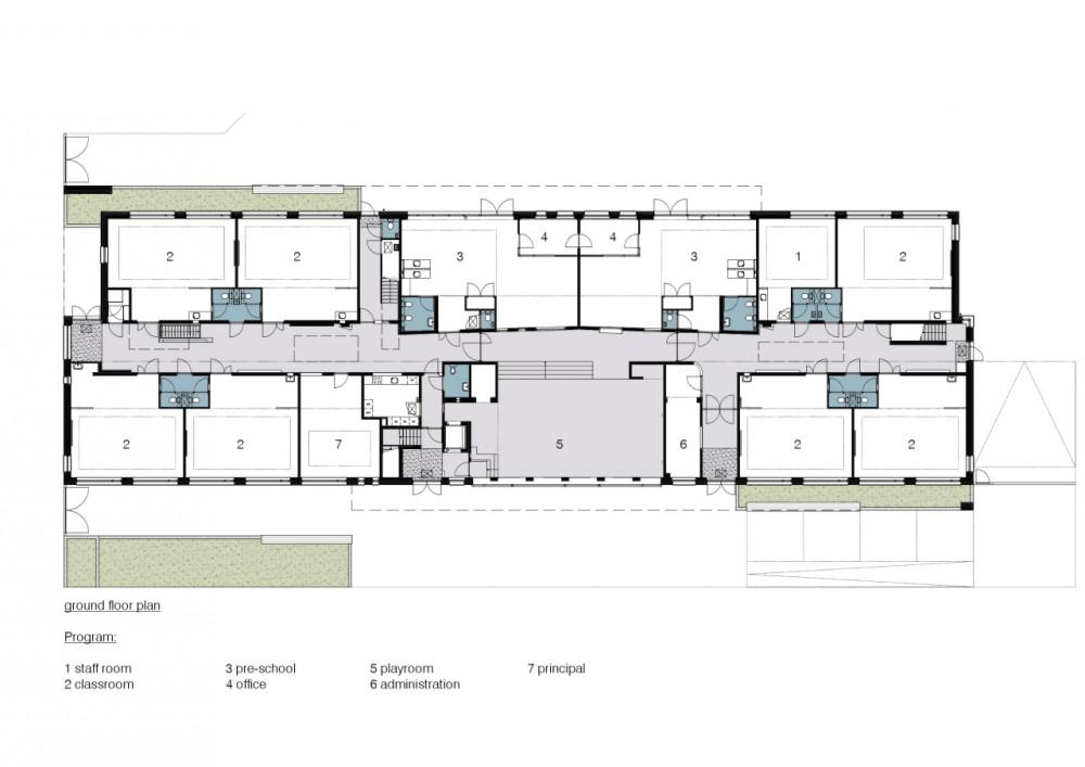 Architecture Photography Ground Floor Plan 128833