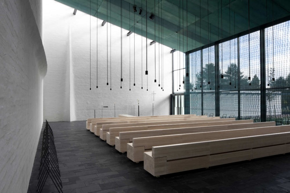 Chapel of St.Lawrence / Avanto Architects, Ville Hara and Anu Puustinen