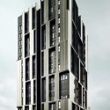 Social Housing Tower Of 75 Units In Europa Square / Roldn + Berengu  Jordi Surroca
