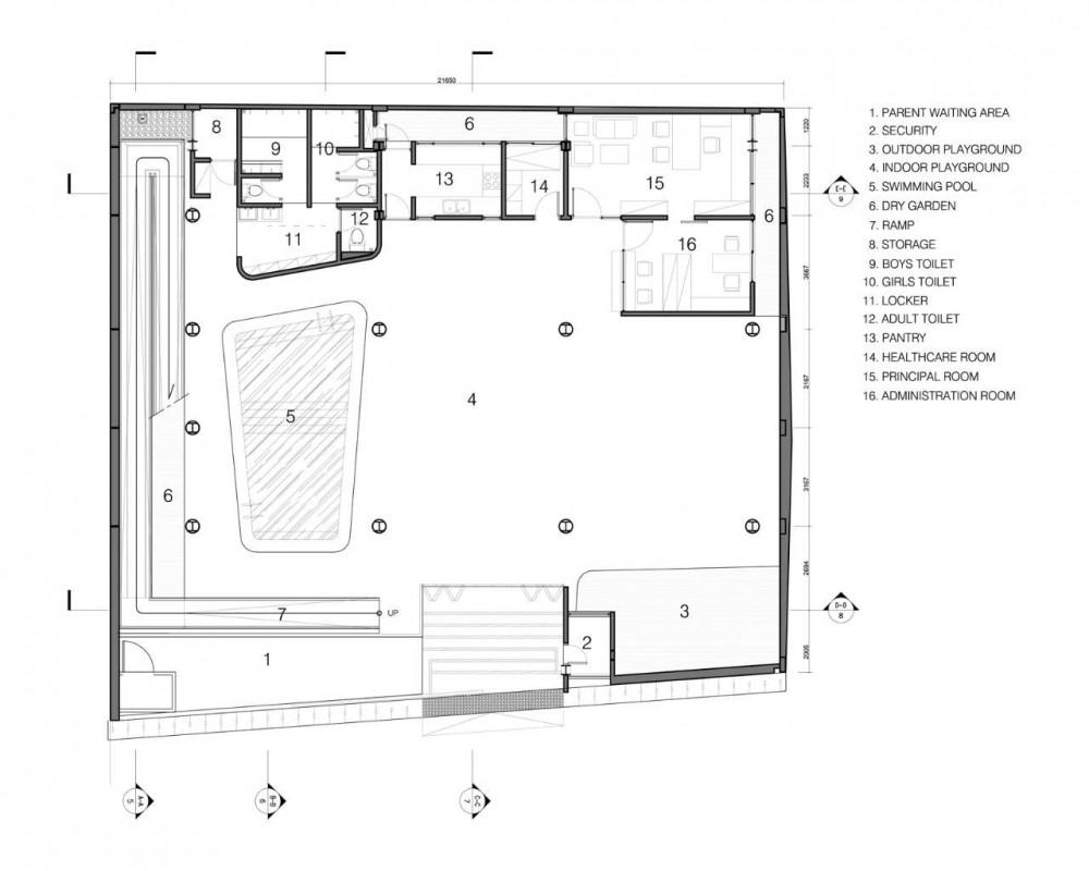 St. Kristoforus Kindergarten / Chrystalline Artchitect  Modern
