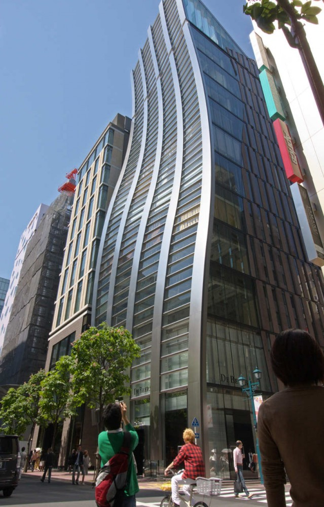 De Beers Ginza Building / Jun Mitsui &#038; Associates Architects
