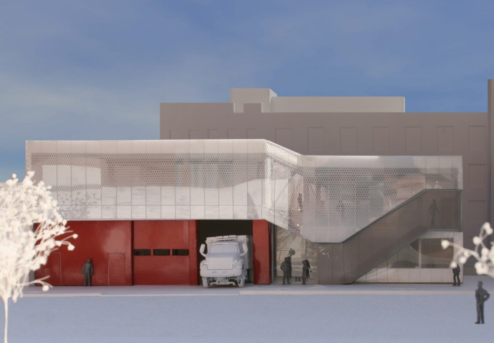 In Progress: New Greenpoint EMS Station / Michielli + Wyetzner Architects