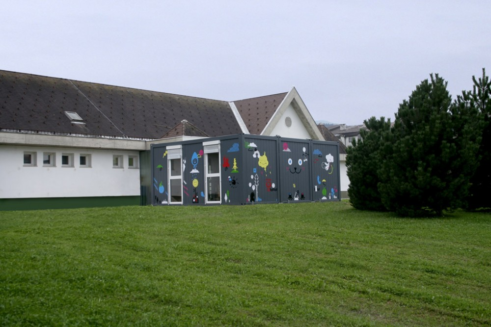 Temporary Kindergarten Ajda / Arhitektura Jure Kotnik