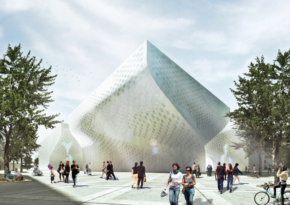 BIG wins the competition to design a major Cultural Center in Albania