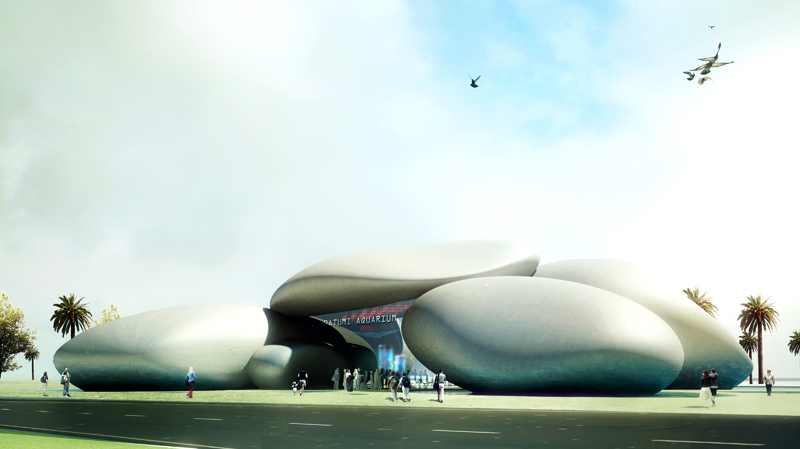 Batumi Aquarium by Henning Larsen Architects is named Architecture of the Year by 2011 International Design Awards