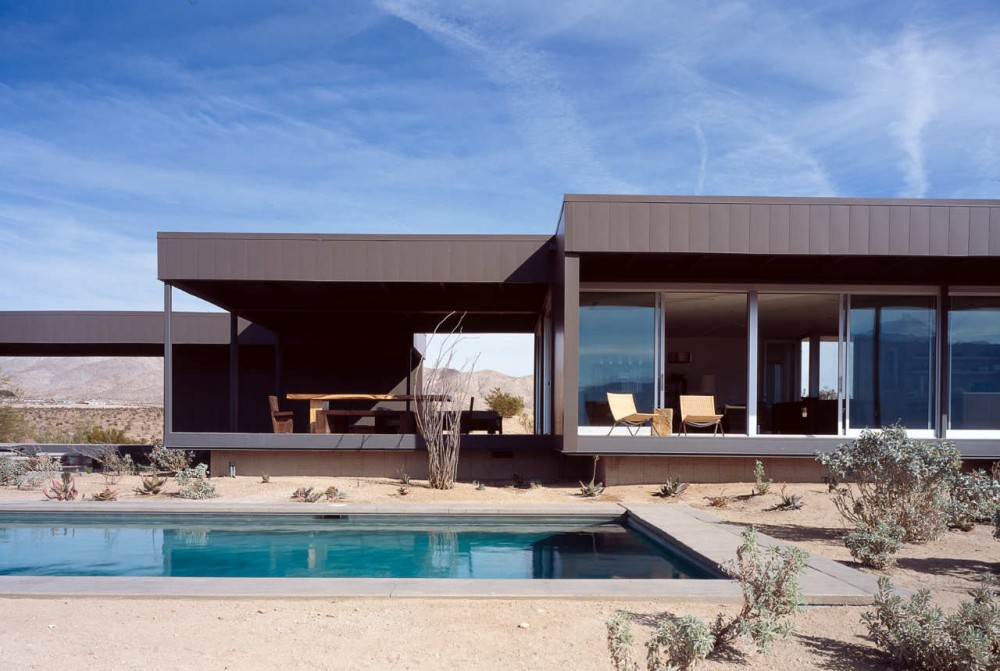Architecture Photography Desert House In California
