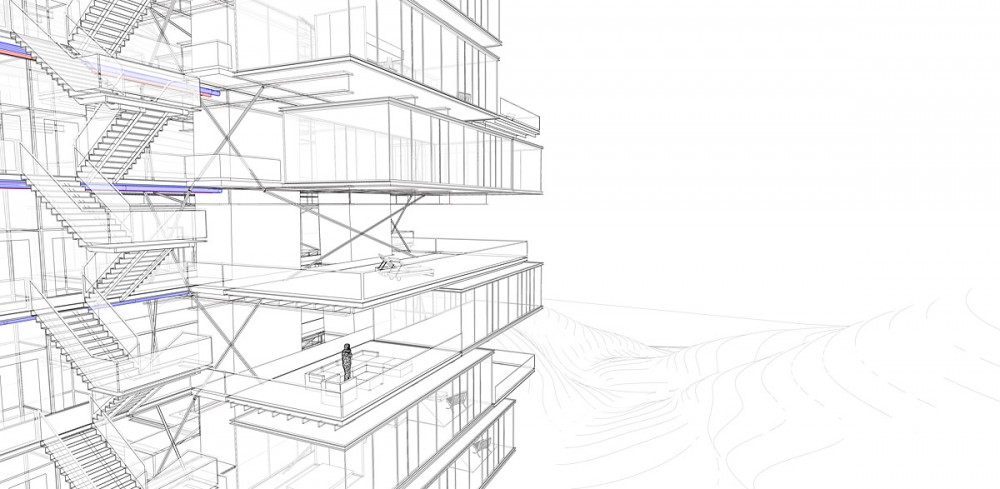 Vertical Villages for European Snowbirds / OFF Architecture, PR Architect and Samuel Nageotte