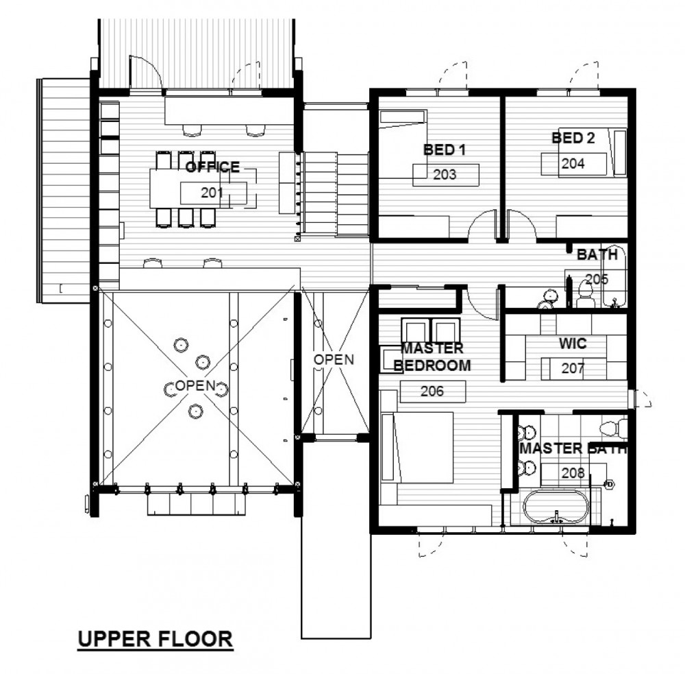 Architecture photography floor plan 135233 for Architectural house design with floor plan