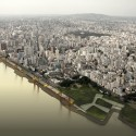 New Waterfront for Porto Alegre project panorama: © b720