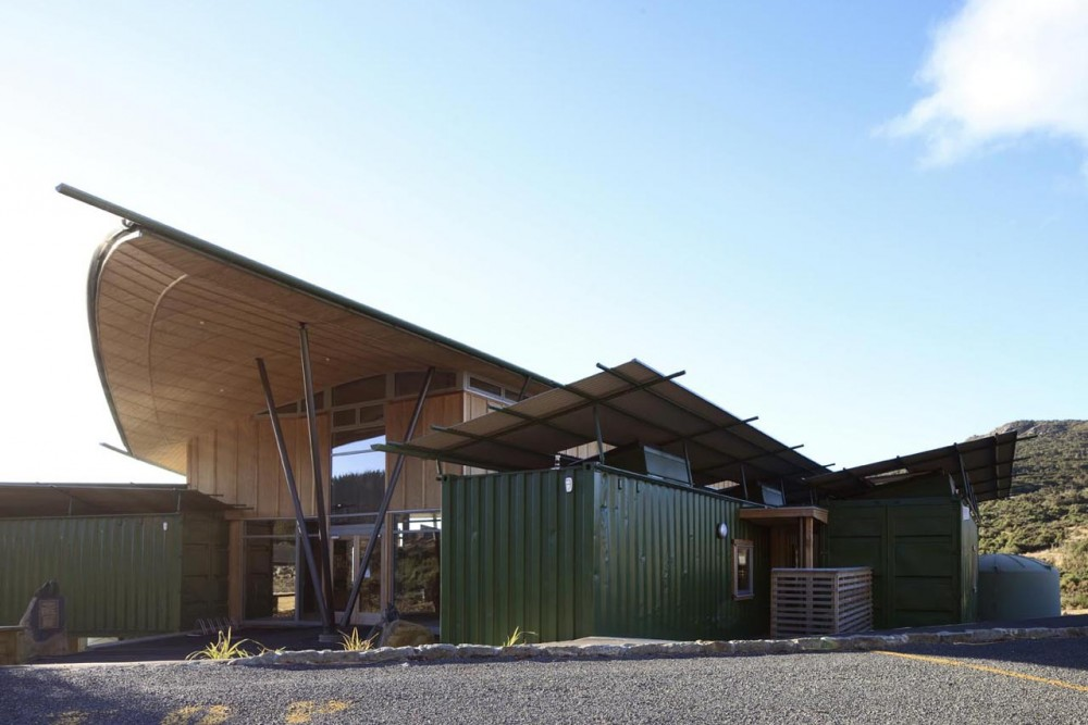 Orokonui Ecosanctuary Visitor Centre / Architectural Ecology