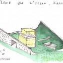 watercolor  Steven Holl