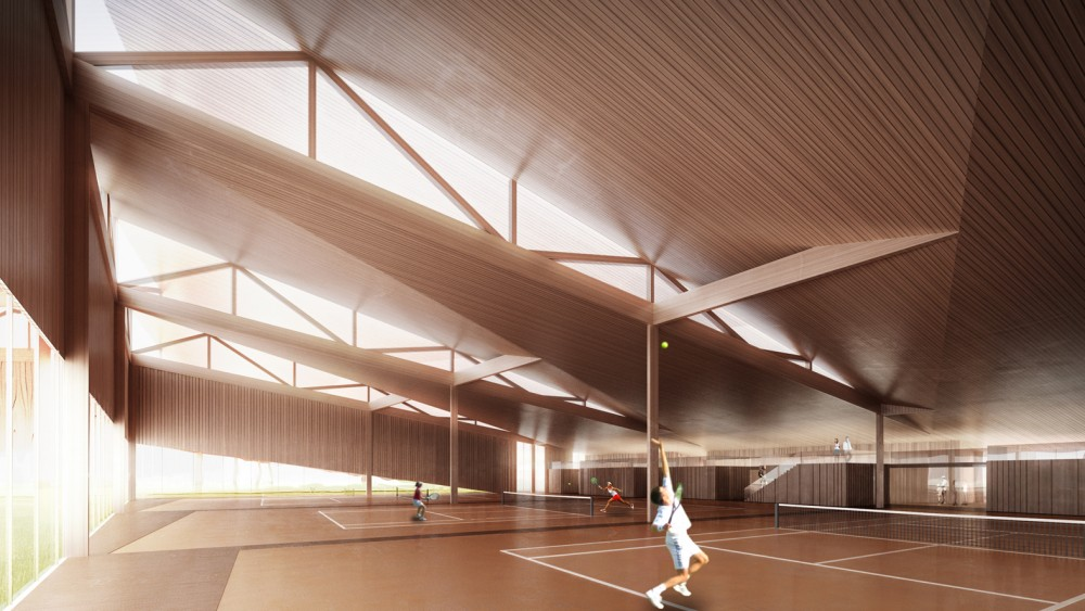 Södra Tennis Hal / Deve Architects