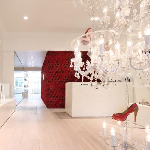 طراحی فروشگاه ، معماری فروشگاه ، دکوراسیون مغازه ، طراحی داخلی مغازه ،Galante Store