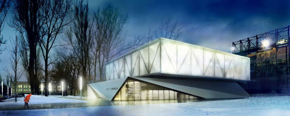 Wisa Krakow New Sports Centre Proposal / Estudio Lamela Polska