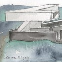 Nanjing Sifang Art Museum / Steven Holl Architects watercolor