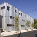 American Street Houses I / Materiality Office © Greg Benson Photography