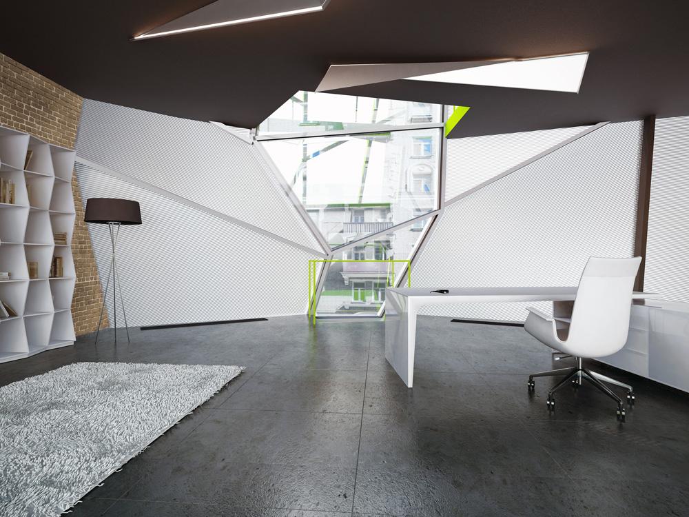 Parasite Office / za bor architects © Peter Zaytsev