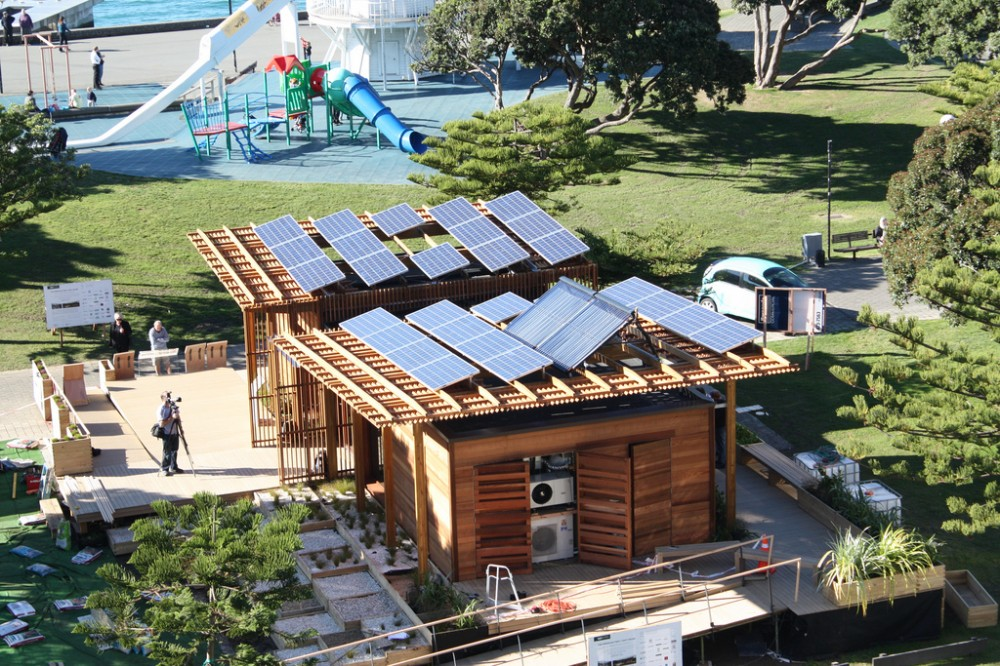 The Meridian First Light House, Solar Decathlon / Team Victoria University of Wellington