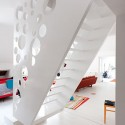 Family Apartment with Emmental Stairs / Éva Katona, Péter Szigeti © Gerardo Altemir