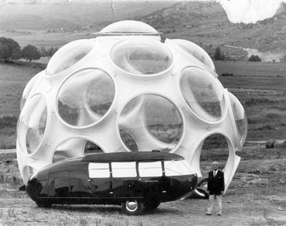 Restoration of Buckminster Fuller's iconic Fly's Eye Dome at America's Cup