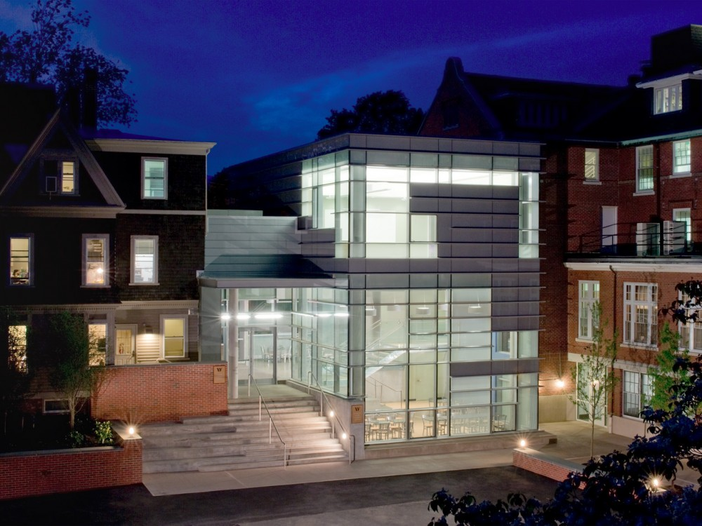 The Wheeler School Nulman Lewis Student Center / Ann Beha Architects