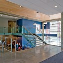 The Wheeler School Nulman Lewis Student Center / Ann Beha Architects © David Lamb Photography