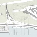 Beton Hala Waterfront Center / Pikasch Architecture Studio site plan 01