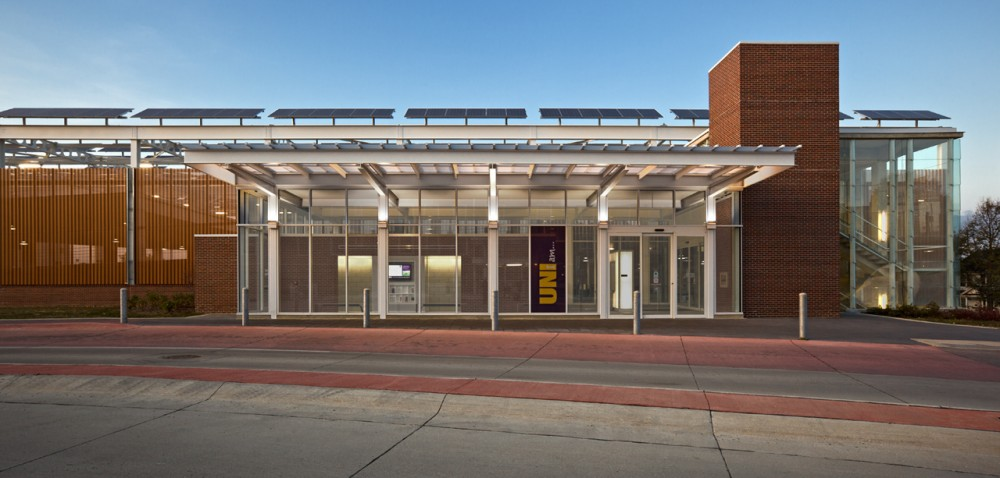 The University of Northern Iowa's Multimodal Transportation Center / substance