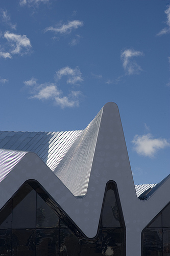 A First Glance at Zaha Hadid's Glasgow Riverside Museum of Transport