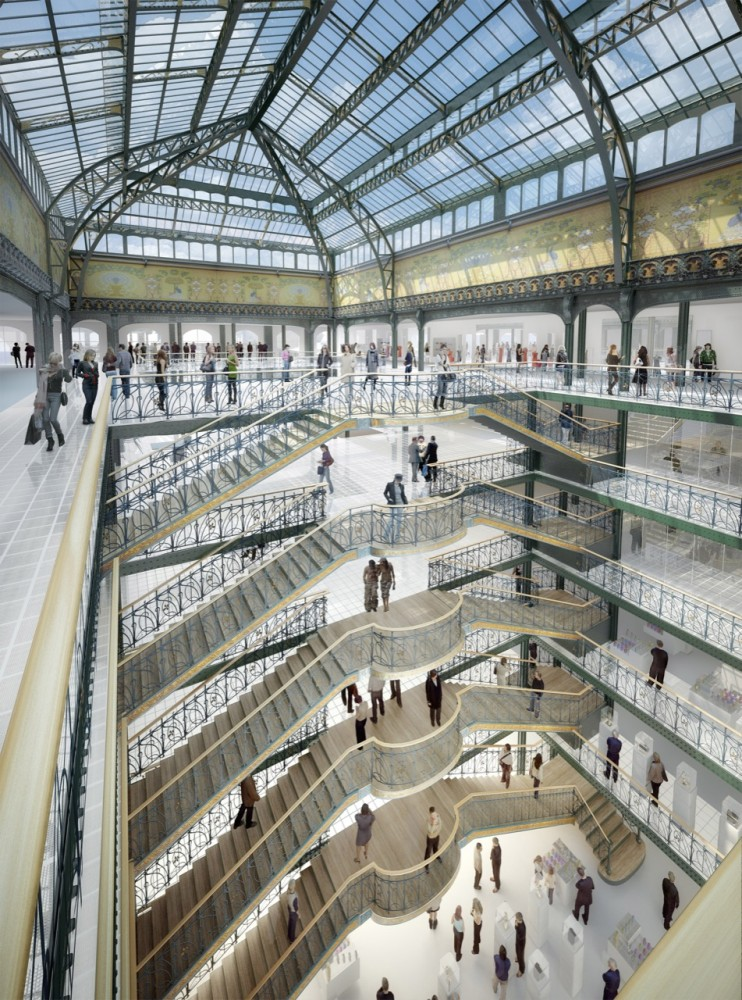 SANAA Announces Plans for Paris' La Samaritaine Restoration