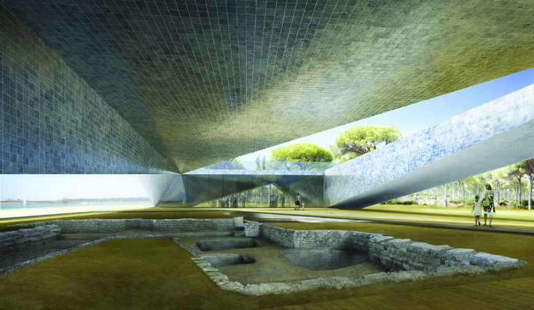 HAIMA Archaeological Museum of Punta Umbria / ETB Architects