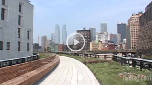 Video tour of the High Line Section 2