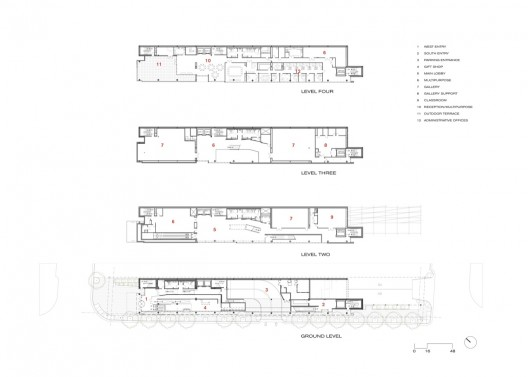 Harvey b gantt center for african american arts culture for Traditions of america floor plans