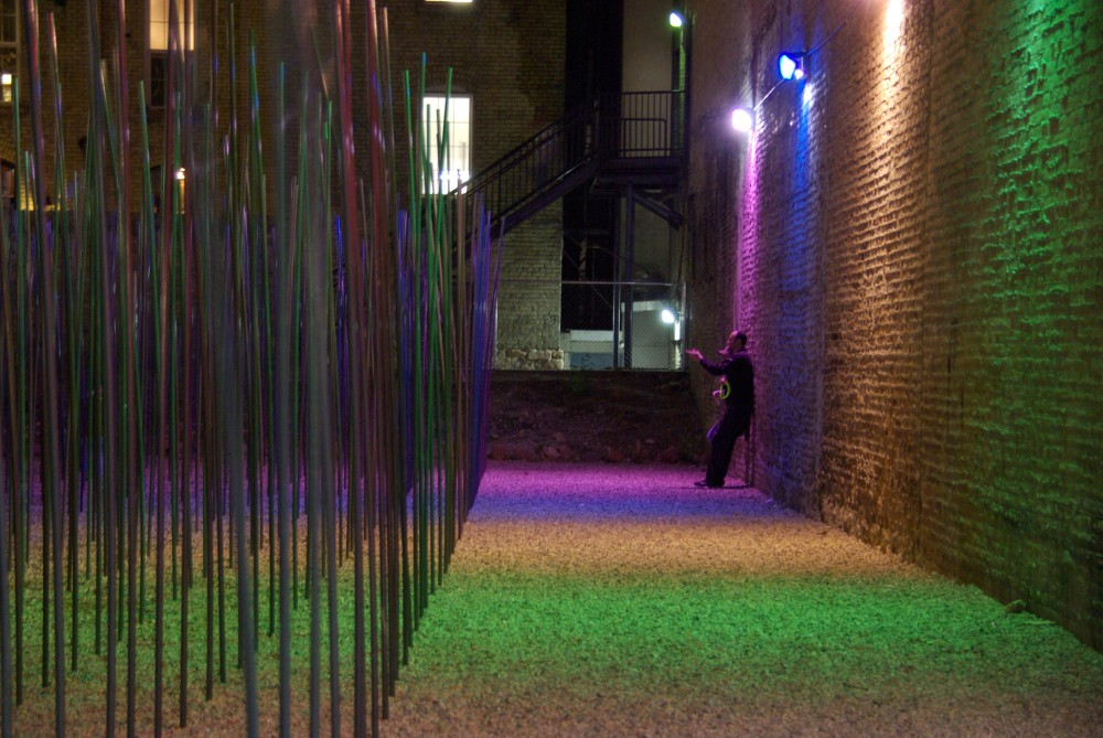 SWAYD Interactive Public Art Installation / Daniel Lyman