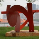 Marc di Suvero's Sculptures Featured on Governors Island © Librado Romero / The New York Times
