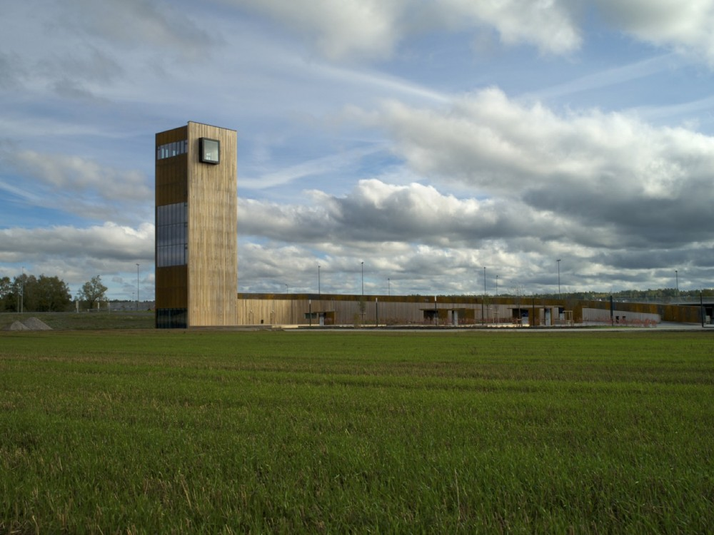 Solberg Tower & Rest Area / Saunders Architecture