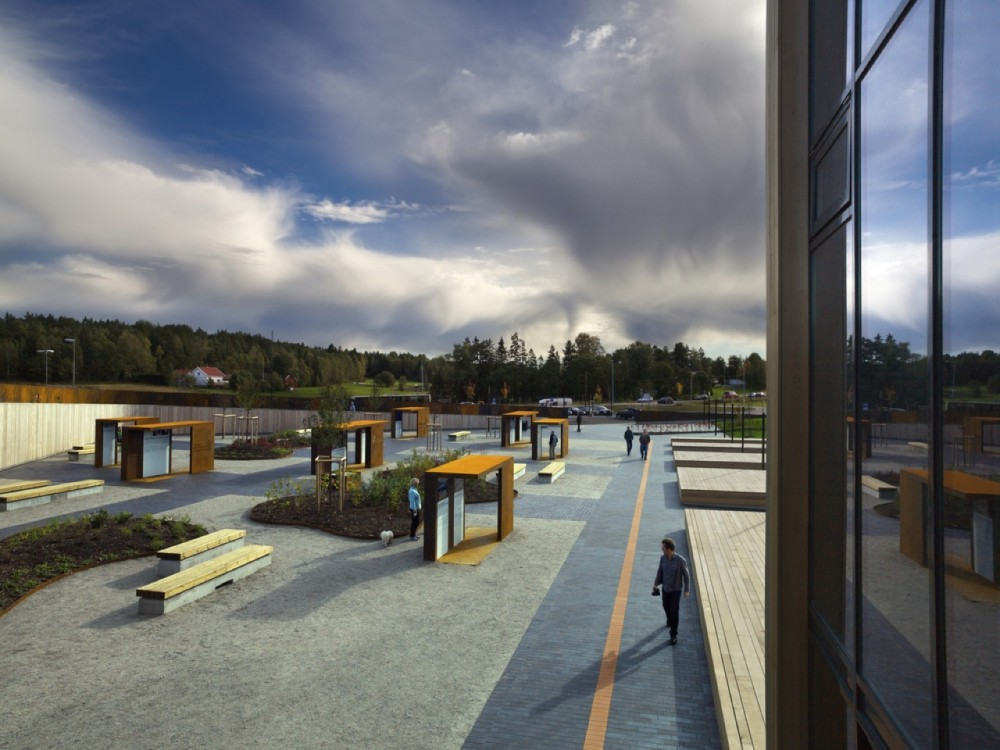 Solberg Tower &#038; Rest Area / Saunders Architecture
