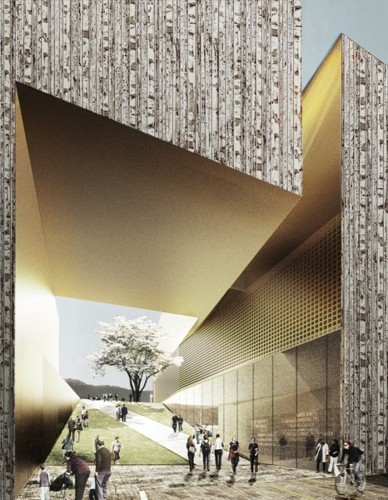 New Musée Cantonal des Beaux-Arts Competition proposal / Allied Works Architecture