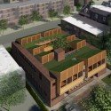 Clyde F. Barker Penn Transplant House / Rafael Viñoly Architects Courtesy of RVA