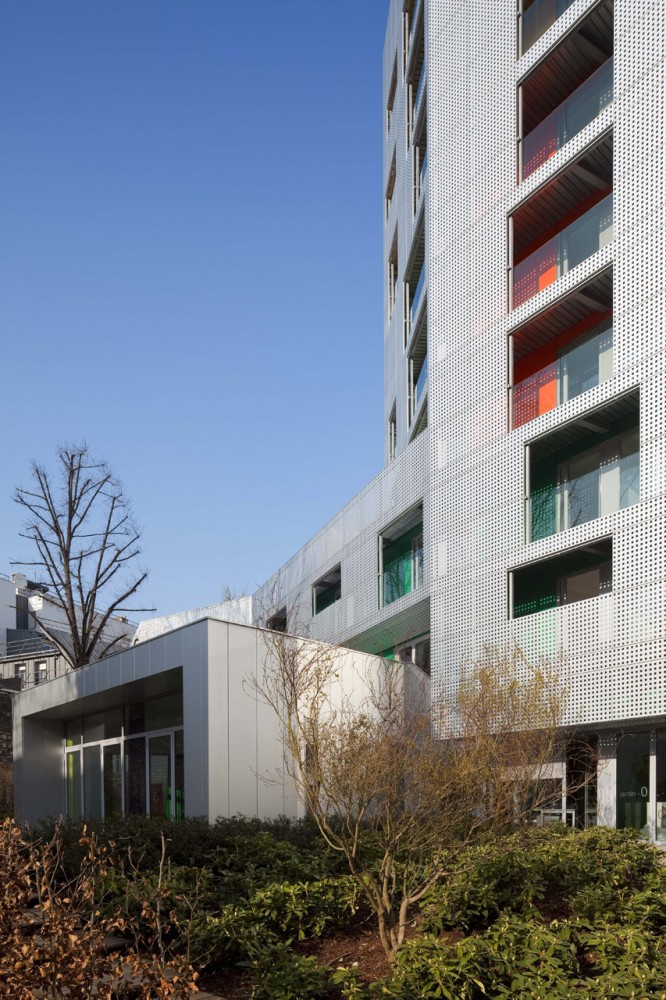 Young Workers Residence / aasb_agence darchitecture suzelbrout