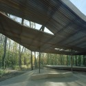 The Ruth Lilly Visitors Pavilion / Marlon Blackwell Architect  Timothy Hursley