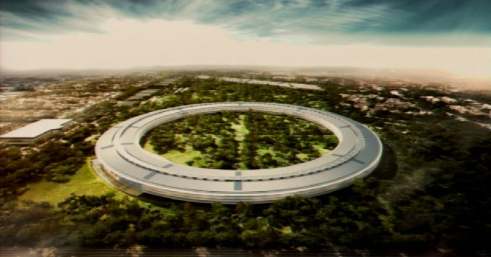 The Apple Campus in Cupertino