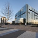 Corby Cube: Civic Hub and Arts Centre / Hawkins\Brown © Hufton+Crow