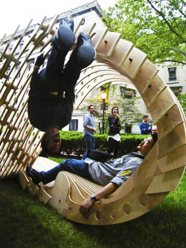 Visual Permeability Pavilion / Columbia University Graduate School of Architecture Team