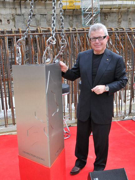 Daniel Libeskind to Receive the 2011 Medal of Honor from AIA New York