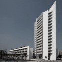 Parc Central Social Housing Building / OAB + Peñín Architects © Diego Opazo