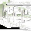 Beton Hala Waterfront Center Proposal board 02